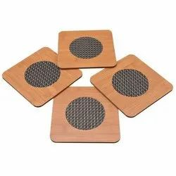 Square Wooden Dining Table Heating Mat, Packaging Type: Packet, Size: 15x15 Mm