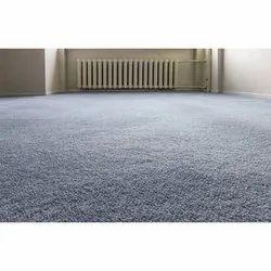 Grey Fiber Decorative Carpet Flooring