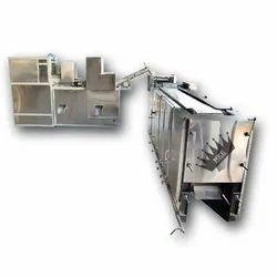 Ss Automatic L Shape Chapati Making Machine, For Hotels,Restaurants Etc, Capacity: 500-3000 per hr