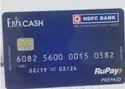 Ebixcash Hdfc Gift Card / Bank Cards / Ebix Cash Prepaid Cards