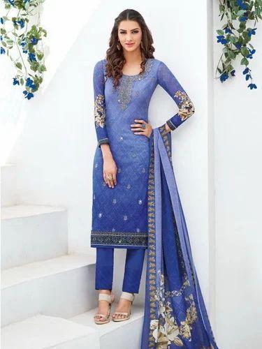 f5a007ffb9 Asmira Myra By Jinaam Dress Pvt Georgette Prints Casual Wear Suit at ...