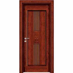Brown Designer Wooden Door
