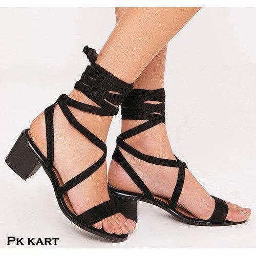 25c68e5aebb Black Heel Sandals