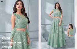 Astounding  Heavy Embroidered Wedding Wear Lehenga Choli