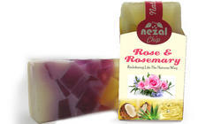 Chip Rose and Rosemary Handmade Soap