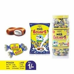Ambic Milk Eclairs Toffee, Packaging Size: 100 Piece In Packet, Packaging Type: Packet