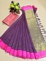 Designer Soft Handloom Silk Weaving Saree