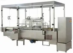 Online Eight Head Ampoule Filling And Sealing Machine