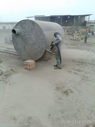 Tank Sandblasting Job Work