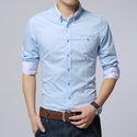 Mens Cotton Casual Shirt