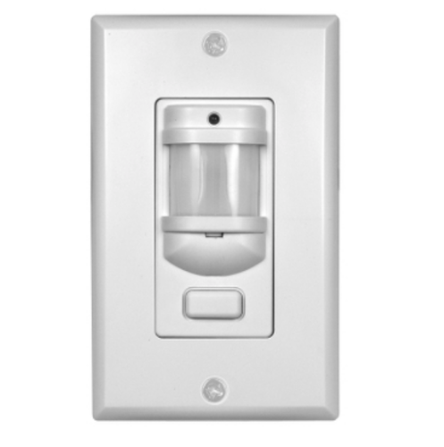 White Schneider Electric Wall Switch Occupancy Sensors