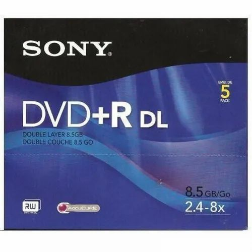 SONY DPR-DL Dual Layer DVD