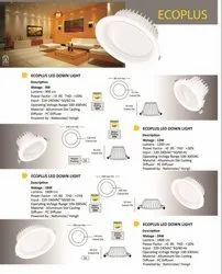 Concealed Warm White LED Downlight for Indoor, 15 W