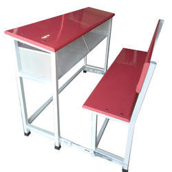 Mild Steel School Desk Bench