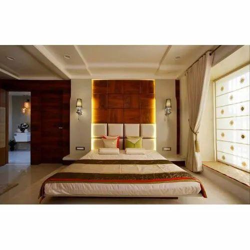Wooden Modern Bedroom Furniture Set At