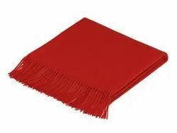 Red Plain Blanket