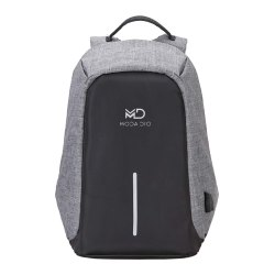 Waterproof Anti Theft Laptop Backpack with Charging Point (Black)