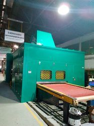 Glass Tempering Furnace Enclosure, for Noise Barriers