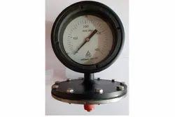 H.GURU Make Schaffer Diaphragm Pressure Gauge