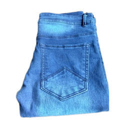 AR Armani Casual Wear Mens Blue Denim Faded Jeans