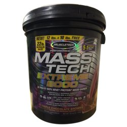 Chocolate Lean Muscle Mass Muscletech Masstech 22lbs