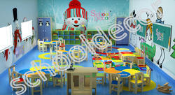 Snow Theme Class Room Furniture