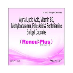 Methylcobalamin1500 mcg Alpha Lipoic Acid 100 mg  Vitamin B6 3 mg & Benfothiamine 100 mg Capsules