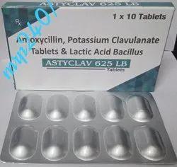 Amoxicillin Potassium Clavulanate & Lactic Acid Bacillus Tablets