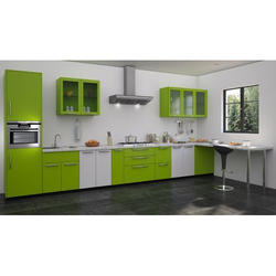 Stylish Straight Modular Kitchen