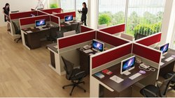 Particle Rectangular Wooden Office Furniture