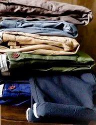 Scotch & Soda Mens Cotton Trousers