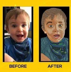 Face Embroidery Photos