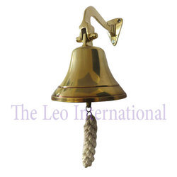 Wall Mounted Nautical Brass Ship Bell