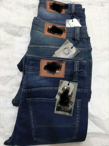 "Casual Wear Plain Slim Fit Denim Jeans, Waist Size: 28-34"", 30-36"""