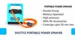Shuttle portable power sprayer