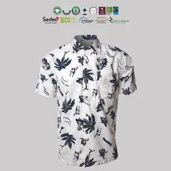 Fair Trade Organic Cotton Mens Half Sleeve Shirts