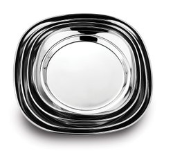 Stainless Steel Snack Plate