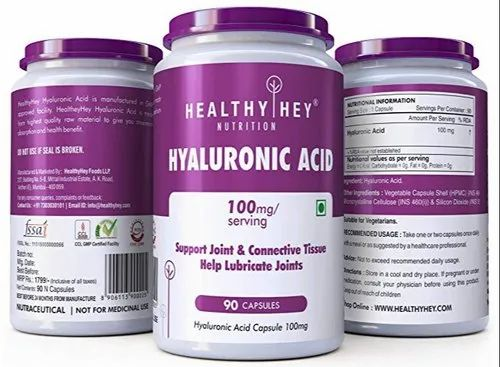 Hyaluronic Acid 100mg Capsule