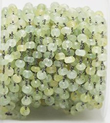 Prehnite Beaded Chain