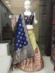 Banarasi Silk Lehenga Collection