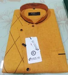 Cotton Party Wear Shirt, Size: M-XXL