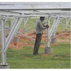 Mild Steel Solar Power Plant Erection, Pan India