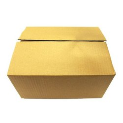 White 3 Ply Brown Packaging Corrugated 12 x 10 x 4 Inch Box