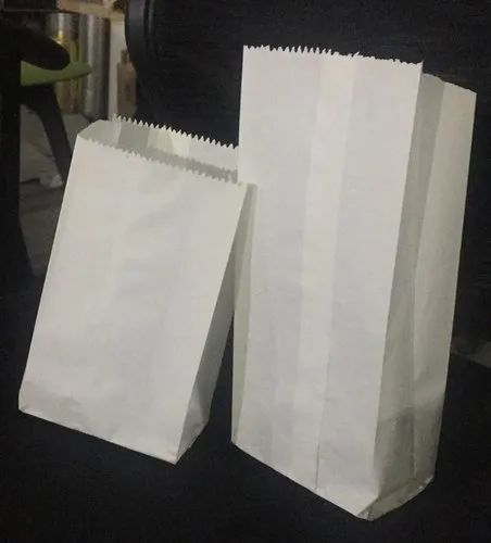 White Grease Proof Paper Bags, For Food Parcel, Rs 250 /kg Deshmukh  Enterprises | ID: 20503469588