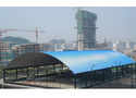 Industrial Trussless Roofing System