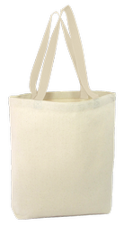 Off White Natural Colour Tote Cotton Cloth Bags For Promotion, Size: 14x16 inch