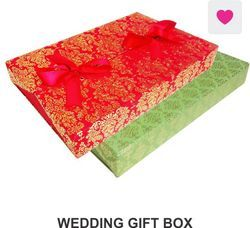 0f55ffc1c67f42 PAPER THEATRE Assorted Prints & Colors Wedding Gift Box
