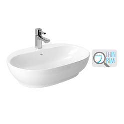 Cera Snow White Cafe 1222 Table Top Wash Basin