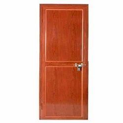 Brown PVC Fiber Door, Size/Dimension: 7 x 2.10 Feet