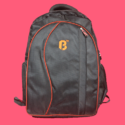 Nylon Srishti Black Backpack
